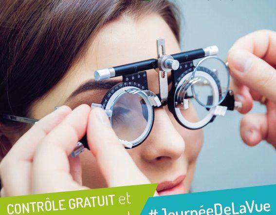 journee de la vue controle gratuit