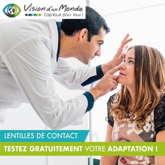 lentilles de contact test gratuit