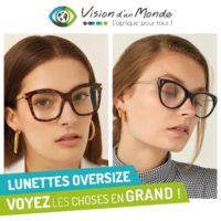 lunettes oversize
