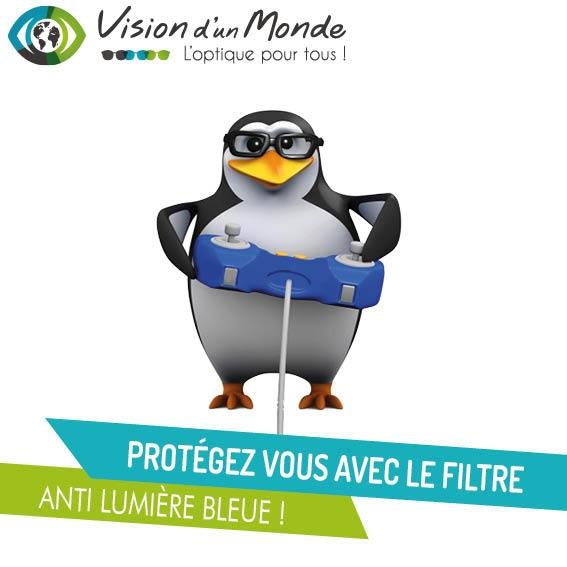 Protection filtre anti lumière bleue