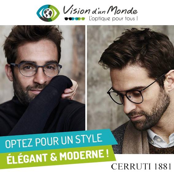 optez pour un style élégant et moderne avec la gamme Cerruti 1881