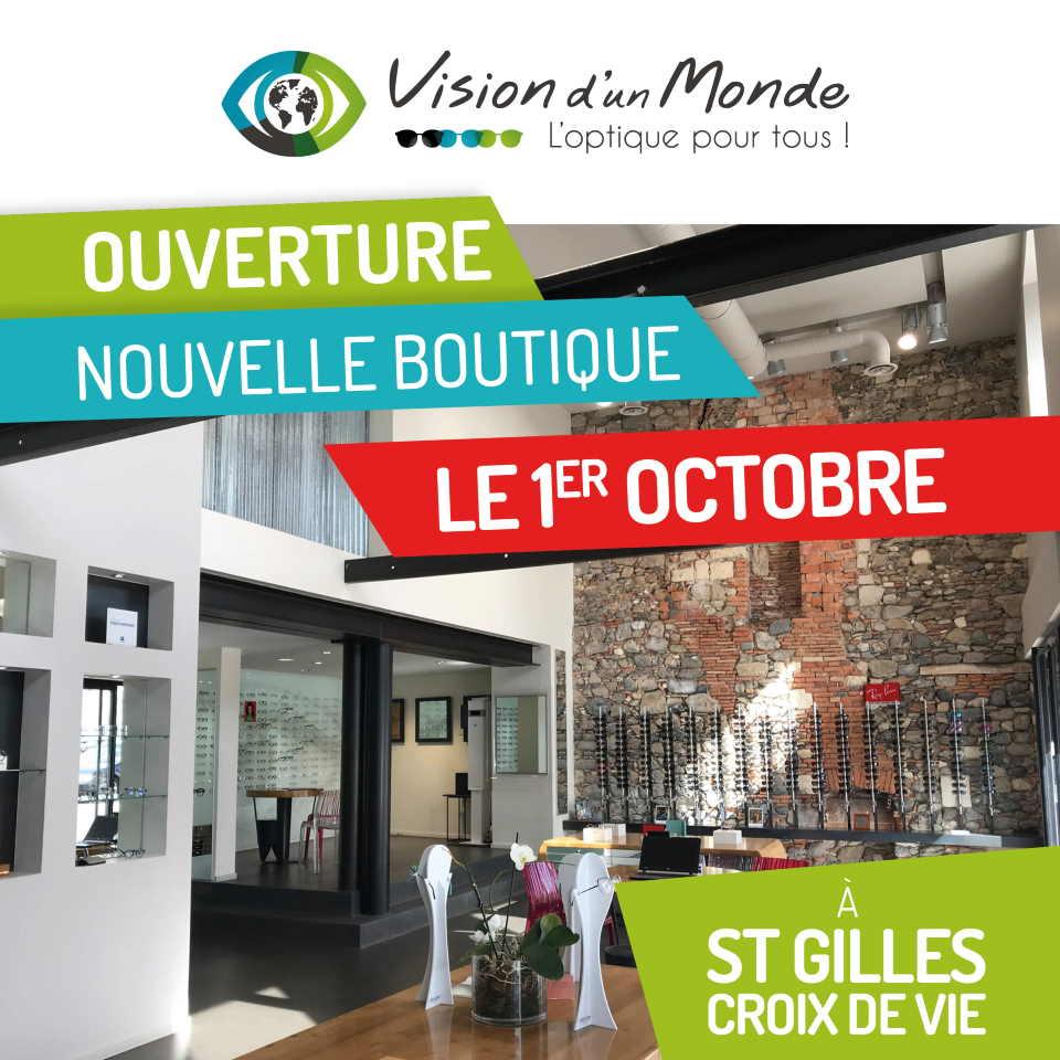 VISION DUN MONDE Ouverture boutique St Gilles