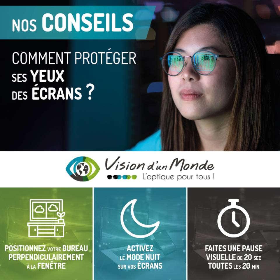 Nos conseils pour proteger ses yeux des ecrans