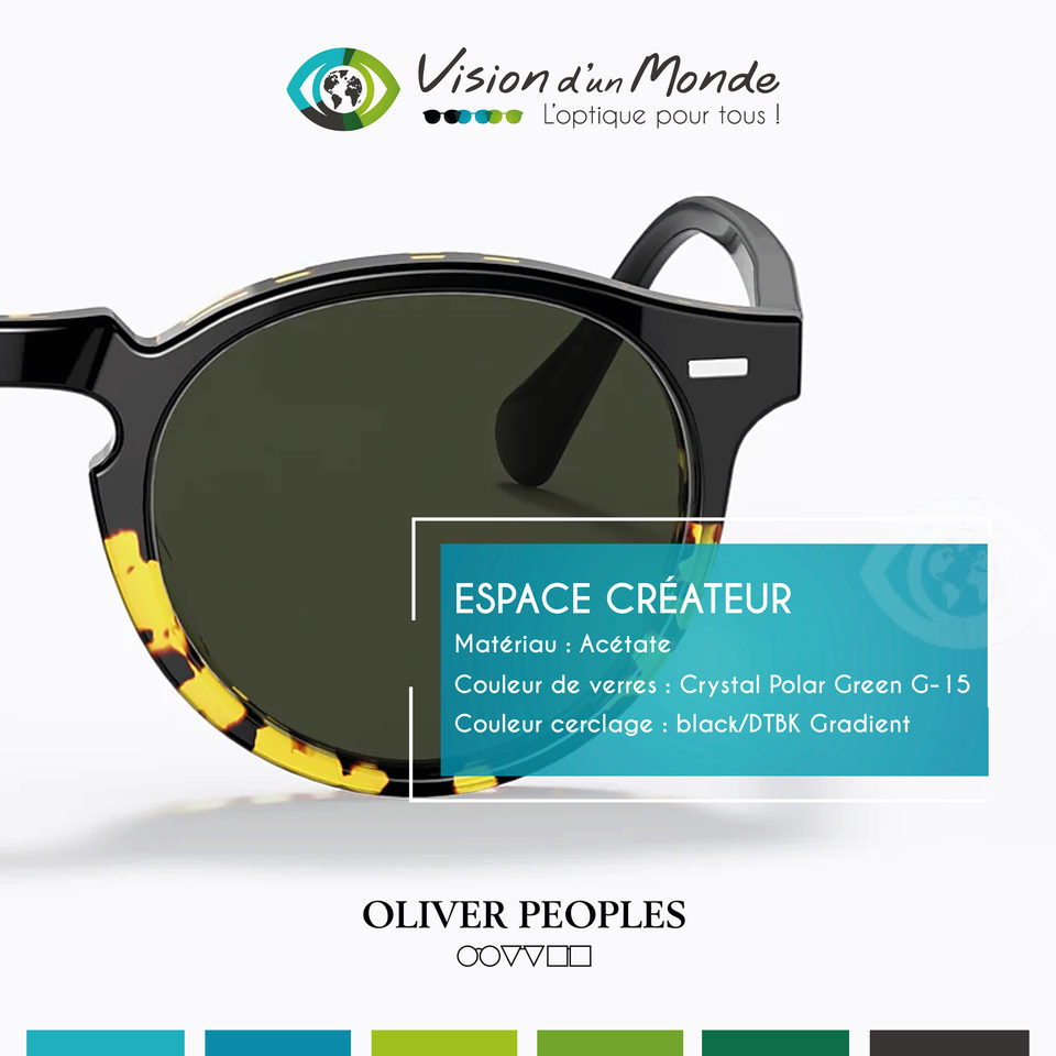 Collection Createur Olivier Peoples