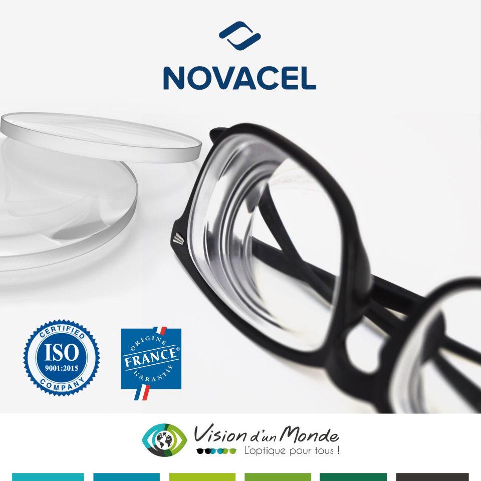 Verres francais Novacel ISO 9001